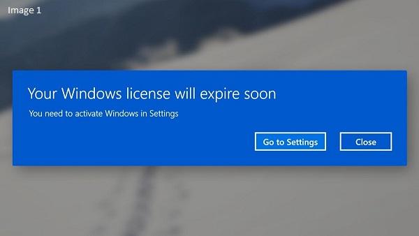 Windows 10 Expiring Soon